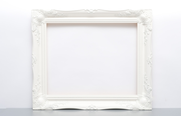 Old Fashioned White Picture Frames Photos Frames Ideas