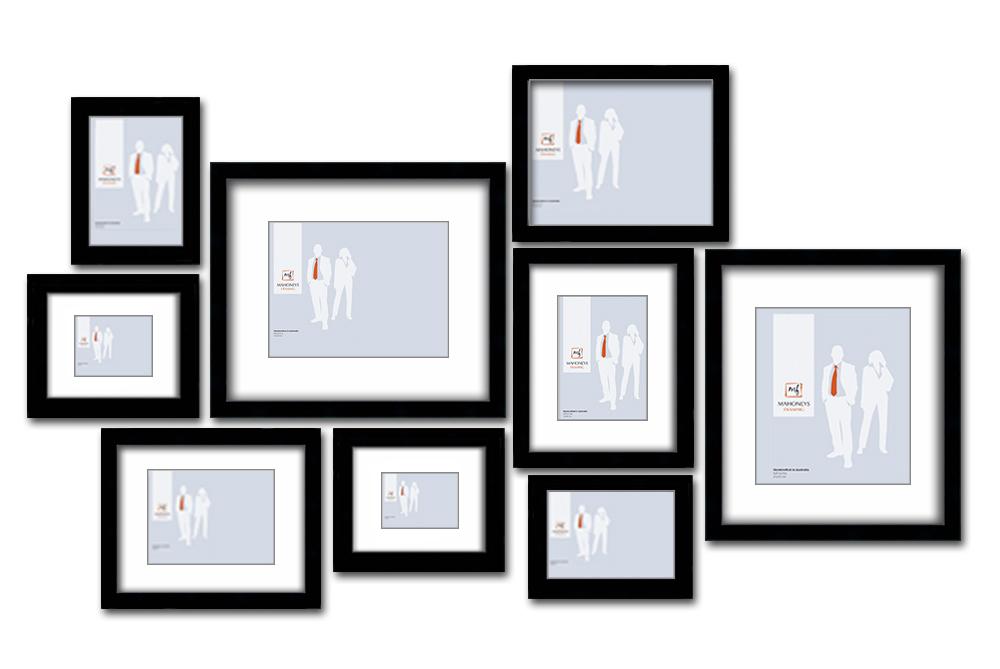Melbourne Wall Frame Set Picture Frames Online