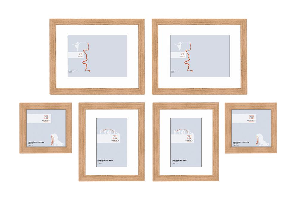 GOLD COAST WALL FRAME SET - Picture Frames Online